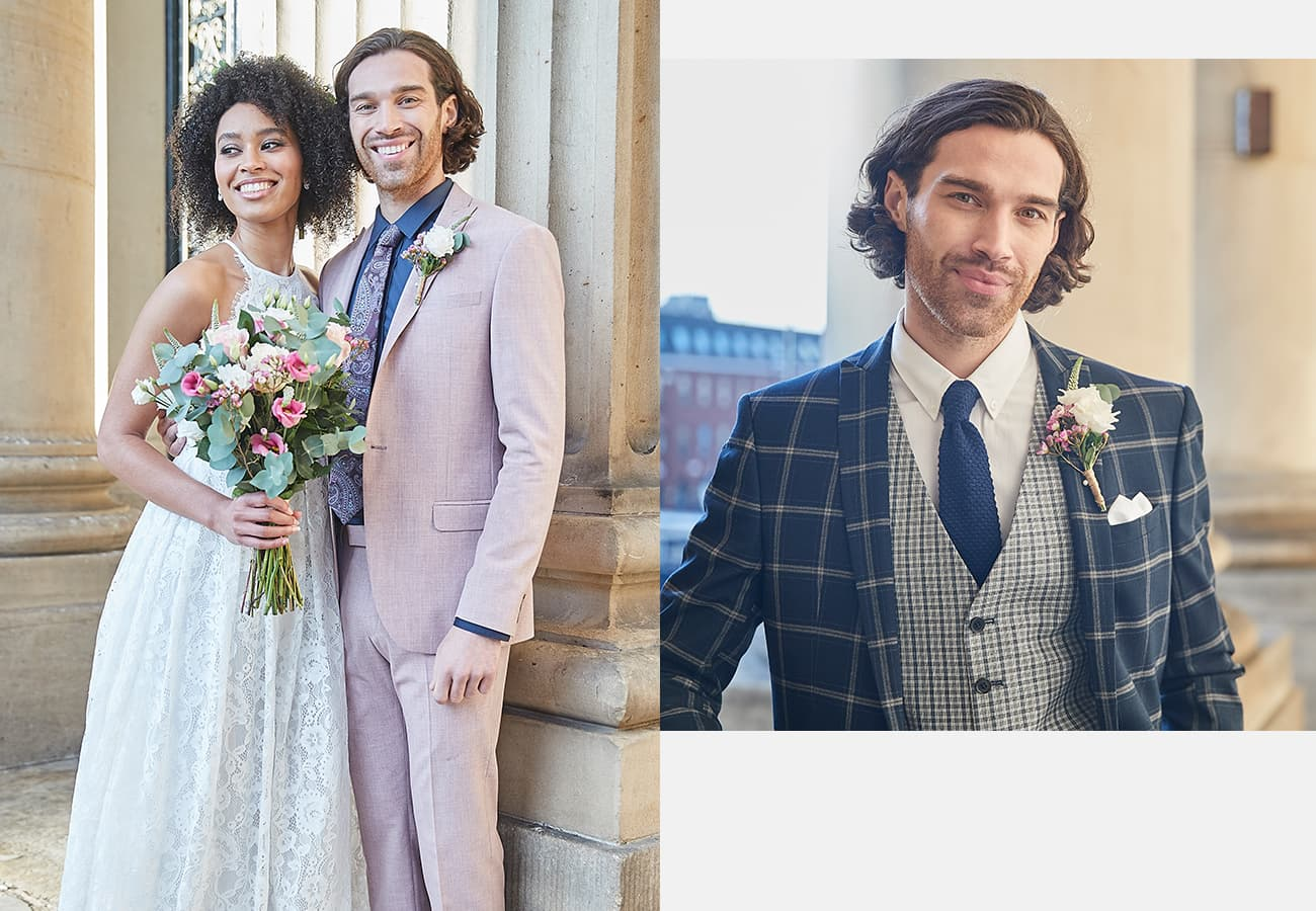 Suit DIrect - SS20 Wedding Campaign